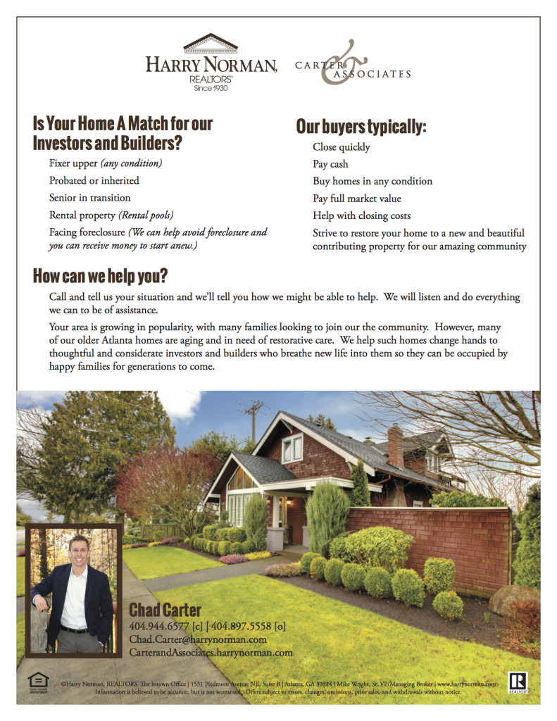 land acquisition We buy House tab • Decatur, Georgia Home Sales